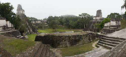 Great Plaza, Tikal